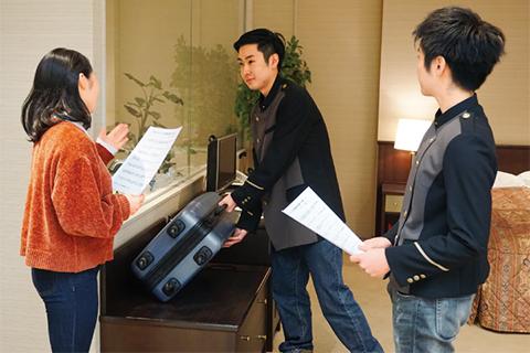 宿泊サービス演習
