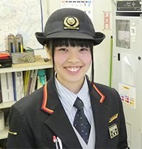 駅務係になった鉄道科卒業生