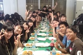海外研修グアム他大学とのコラボレーション