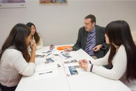 語学能力を育成する充実のカリキュラム
