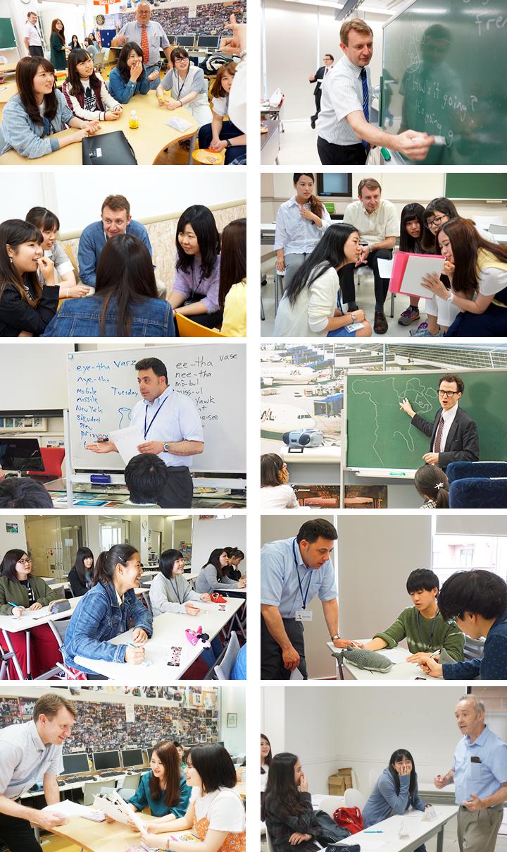 観光外語コース授業風景