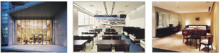 新校舎の充実した施設