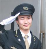 運転士になった鉄道科卒業生