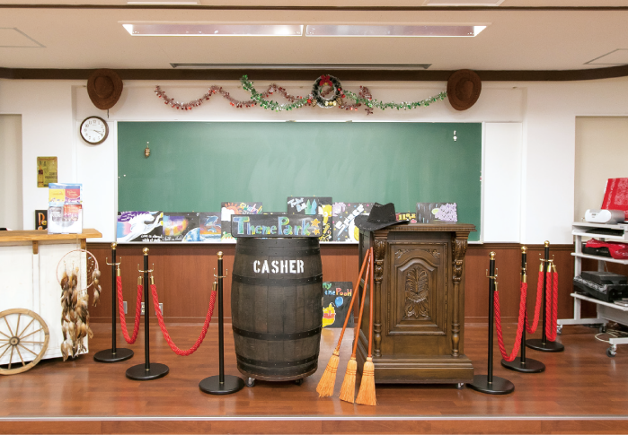 テーマパーク実習室